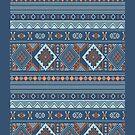 Aztec Pattern Series by Jordan Bails