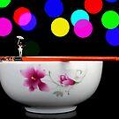 Circus balance game on chopsticks by Paul Ge