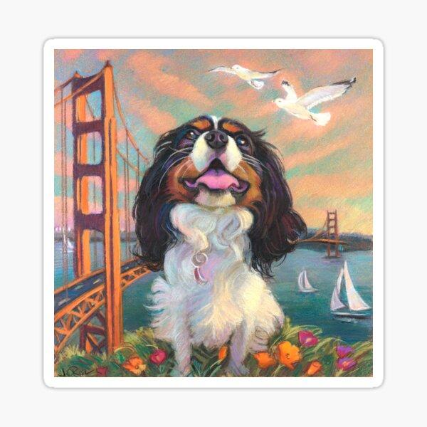 Cisco King Charles Cavalier Sticker