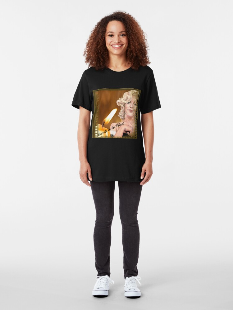 Alternate view of Candle in the Wind Slim Fit T-Shirt