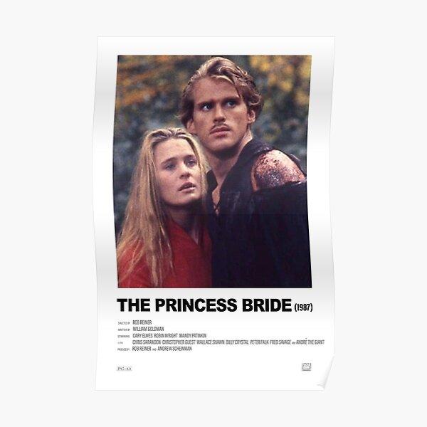 La princesa prometida (1987) Cartel de película alternativa Póster