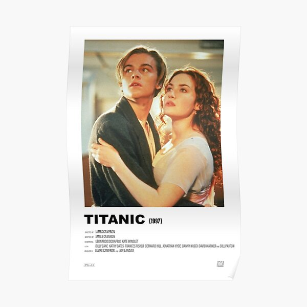 Titanic (1997) Alternative Film Poster Poster