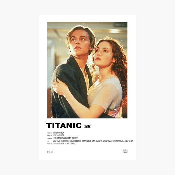 Titanic (1997) Alternative Film Poster Photographic Print