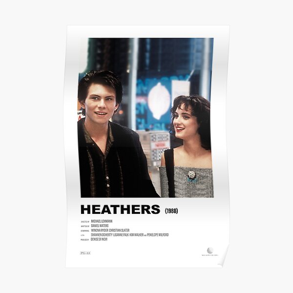 Heathers (1988) Alternative Film Poster Poster
