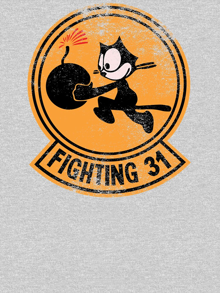 WW2 VFA-31 Tomcatters Squadron Patch Shirt Gear by DynamicDesign