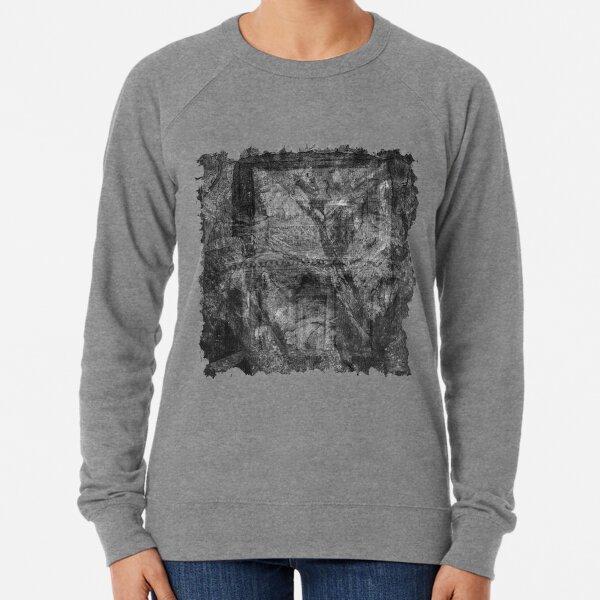 The Atlas of Dreams - Plate 32 (b&w) Lightweight Sweatshirt