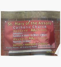 St Mary of the AAsoles Poster