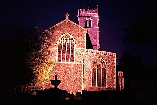 Saint Mary's Parish Church, Woodbridge, Suffolk by Eddienable