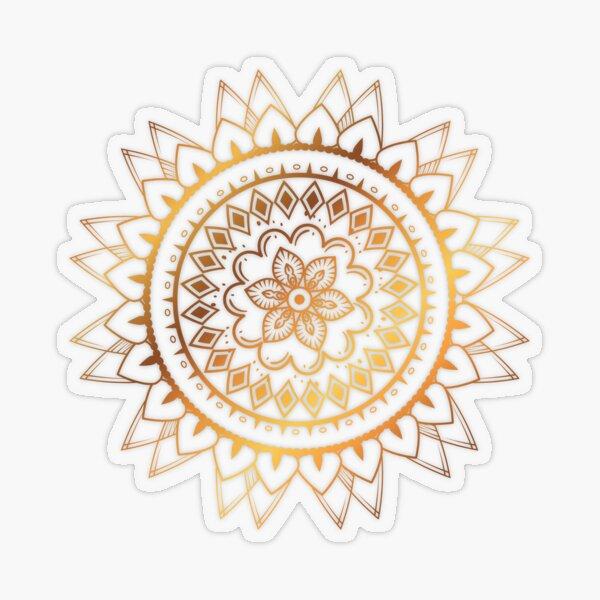 Stickers - mandala Transparent Sticker