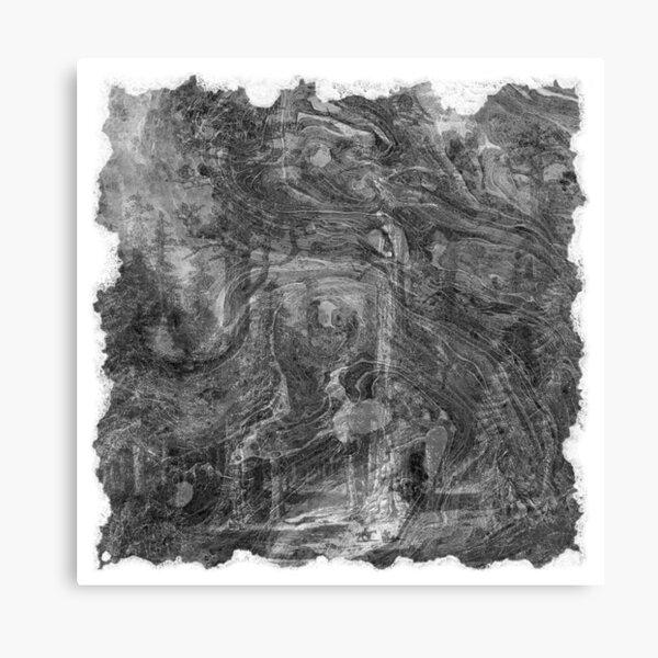 The Atlas of Dreams - Plate 30 (b&w) Canvas Print