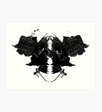 InkBlot Witches Art Print