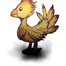 Chocobo by lulujweston
