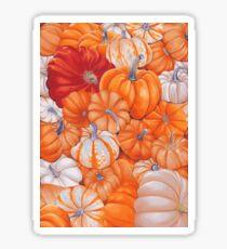 gourd patch Sticker
