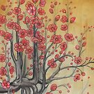 flowering quince by resonanteye