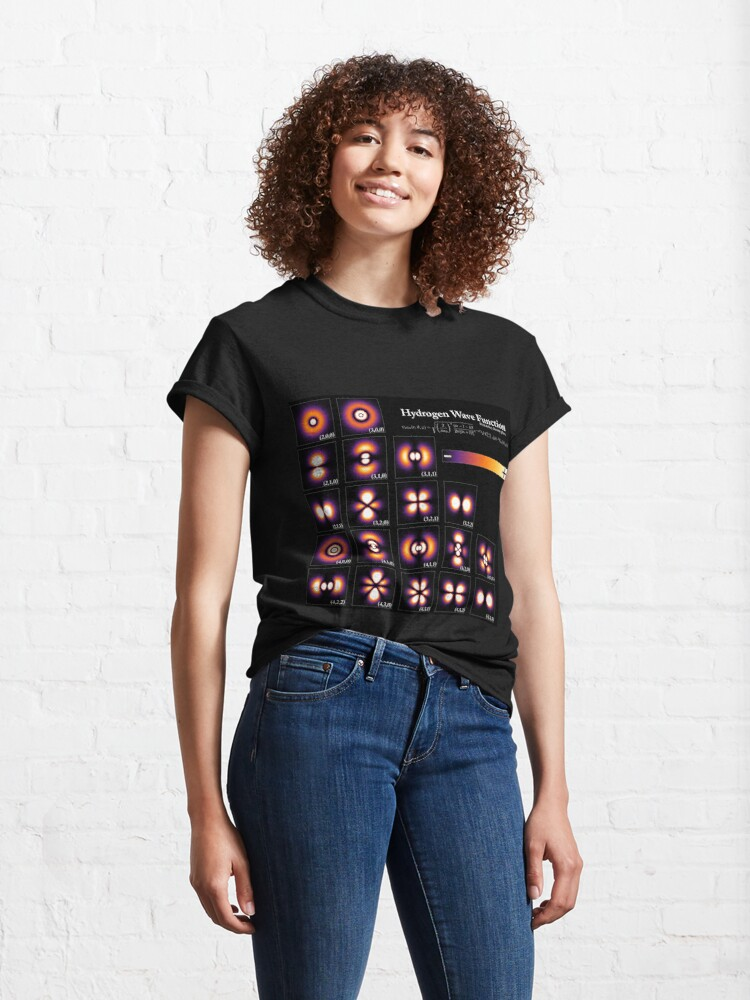 Alternate view of Hydrogen Wave Function Classic T-Shirt