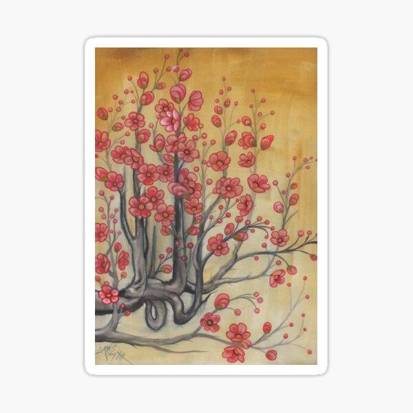 flowering quince Sticker