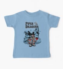 PIPES & DRAGONS Baby Tee