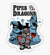 PIPES & DRAGONS Sticker