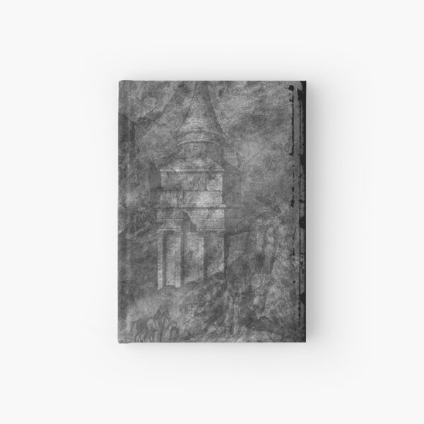 The Atlas of Dreams - Plate 28 (b&w) Hardcover Journal