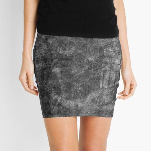 The Atlas of Dreams - Plate 28 (b&w) Mini Skirt