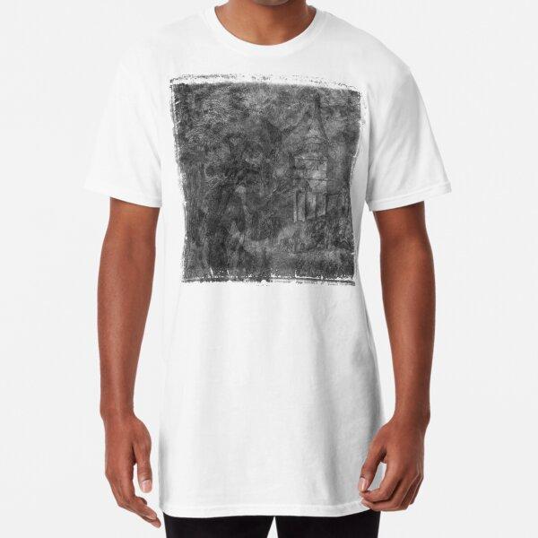 The Atlas of Dreams - Plate 28 (b&w) Long T-Shirt