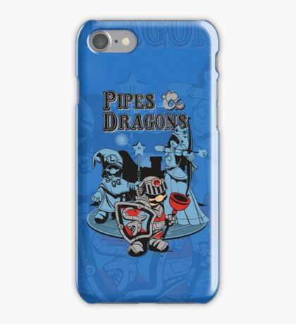 PIPES & DRAGONS iPhone Case/Skin