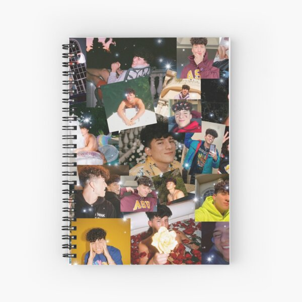 Tony Lopez Collage Spiral Notebook