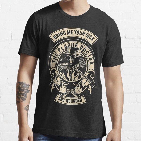 Vintage Plague Doctor Essential T-Shirt