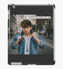 Jc Caylen Kiss Me  iPad Case/Skin