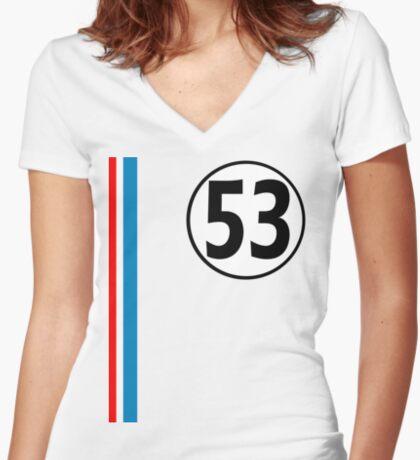 For Walt Women's Fitted V-Neck T-Shirt