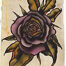 violet rose by resonanteye