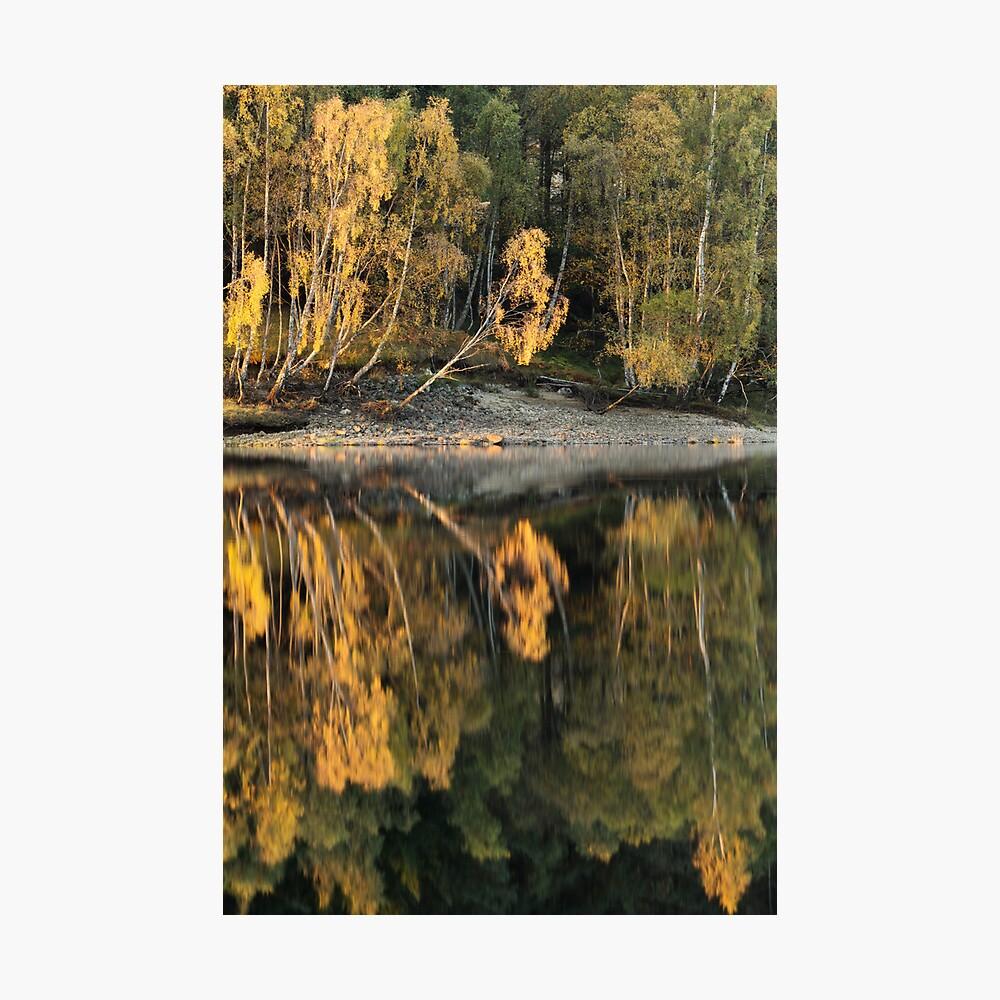 Loch Meig Reflection Photographic Print