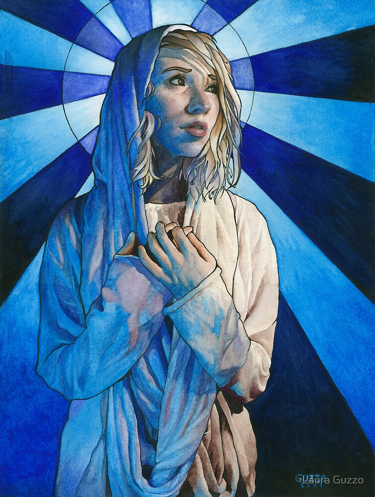 Mary, Mother of God by Laura Guzzo