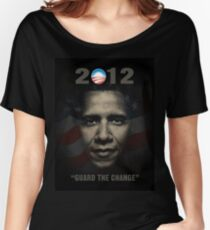 Obama Guard Change Women's Relaxed Fit T-Shirt