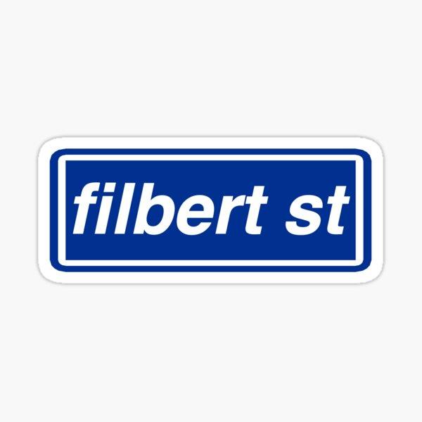 Filbert St Sticker