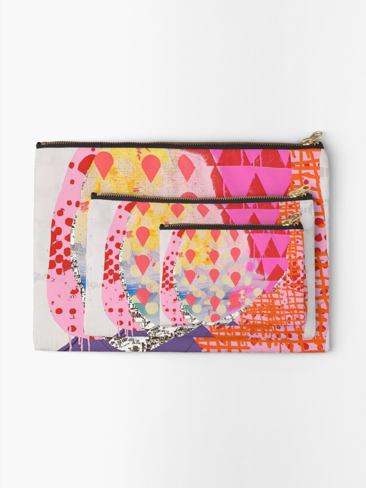 Alternate view of Is It Raining At Your House Zipper Pouch