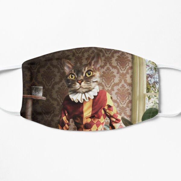 Tabby Cat Portrait - Buster Flat Mask