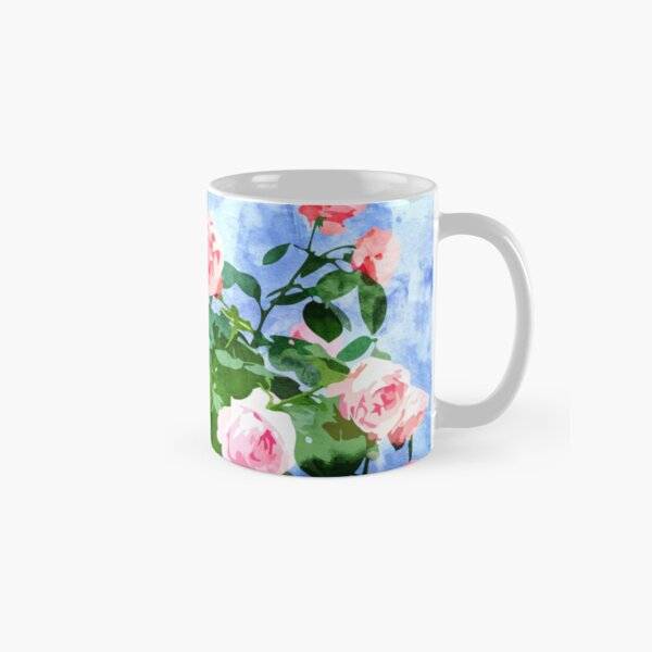 Love planted a rose & the whole world turned sweet #painting Classic Mug