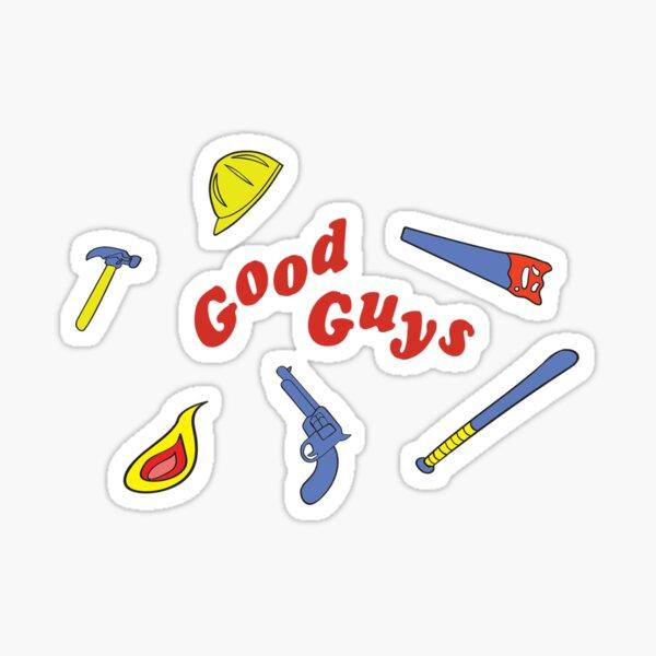 buenas herramientas de chicos Pegatina