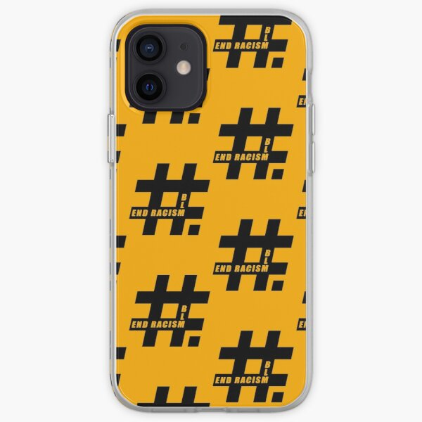 End racism, Black Lives Matter iPhone Soft Case