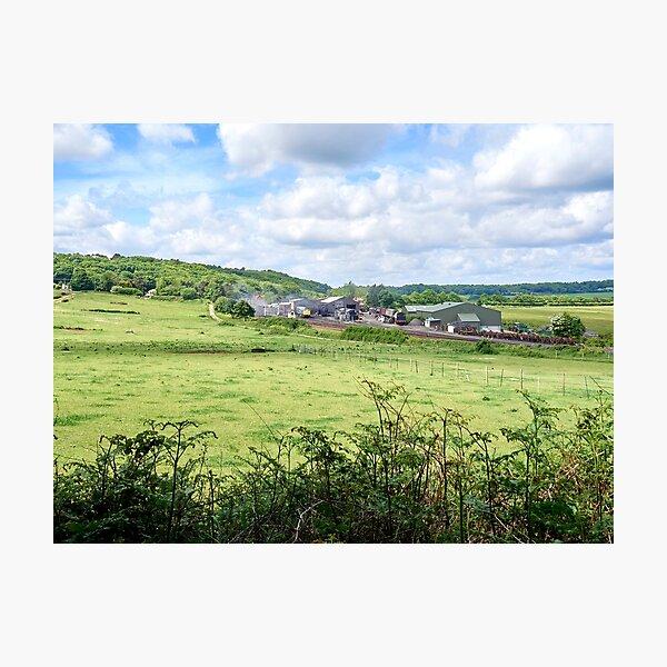 Weybourne station North Norfolk Photographic Print