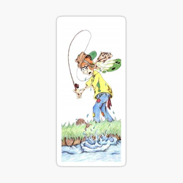 Toby Fishing  38. Sticker