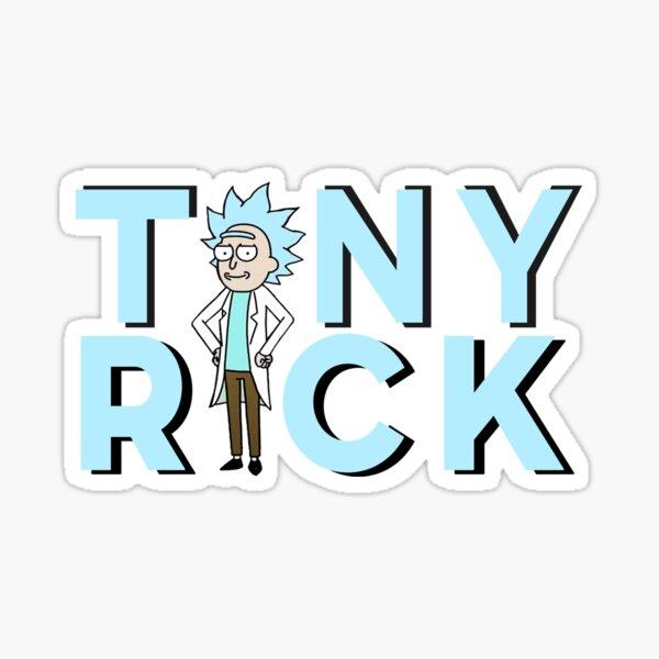 Tiny Rick !  Sticker