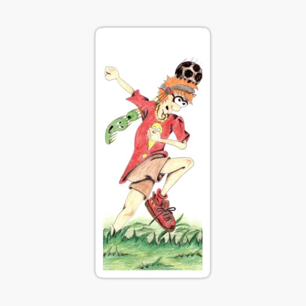 Soccer Fiene 40. Sticker