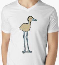 long legged bird Men's V-Neck T-Shirt