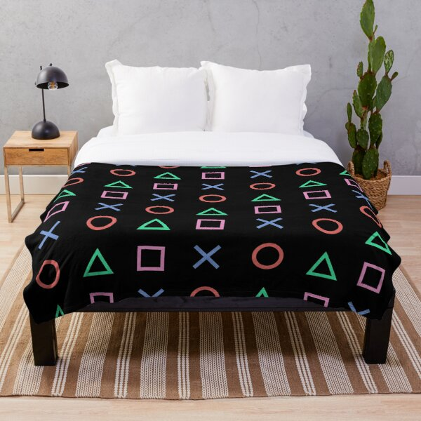 Classico Controller Buttons Icon Throw Blanket