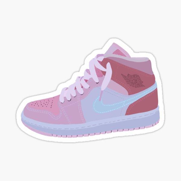 High top pink  Sticker