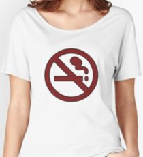 """Marceline's """"Don't Smoke"""" Shirt Women's Relaxed Fit T-Shirt"""