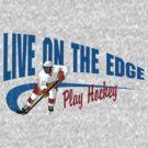 Hockey by SportsT-Shirts