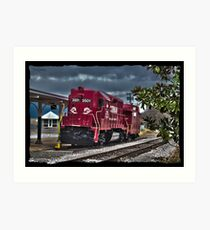 Corman Train Art Print